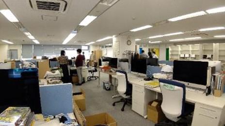 移転前のオフィス
